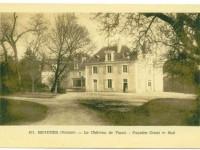Béruges - Château de Visais