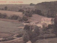 Béruges - Moulin du temple, env. 1906