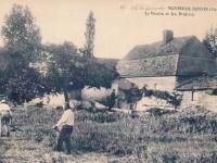Montreuil Bonnin - le moulin du roi et les prairies