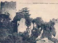 Montreuil Bonnin - les ruines et le château