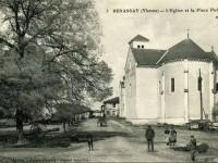 Benassay - La place après 1931