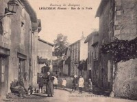 Lavausseau -  rue de la poste