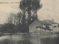 Lavausseau - Vue sur l'étang