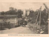 Montreuil Bonnin - le château sud