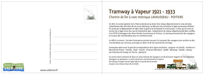 carte postale tram verso 650